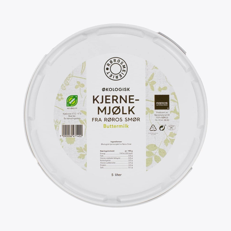 Økologisk Kjernemjølk, 5 l